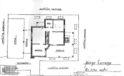 Nuda proprietà villa con portico, giardino, terreno, magazzini ed ampio cortile.